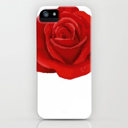 June Rose Anthophile Or Designer Gift iPhone Case