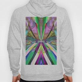 346 - Abstract Flower Design Hoody