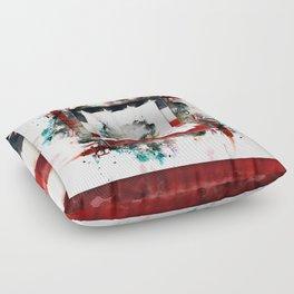 Silenced Floor Pillow