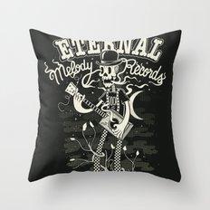 Eternal melody records Throw Pillow