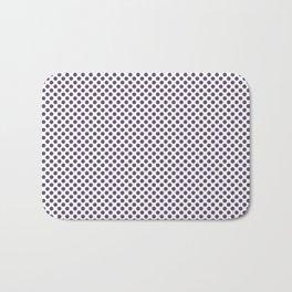 Loganberry Polka Dots Bath Mat