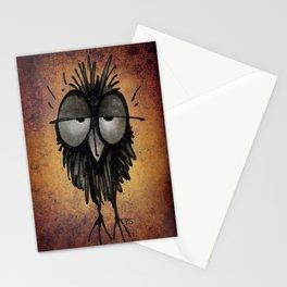 Sleepy Owl Stationery Cards