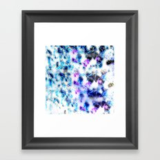 Blue Haze Framed Art Print