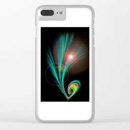 Magical Light and Energy 2 Clear iPhone Case