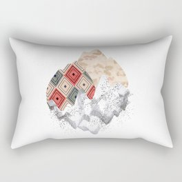 montañas collage Rectangular Pillow