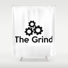 The Grind Shower Curtain
