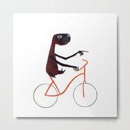 Reason EIGHT for using bike: Metal Print