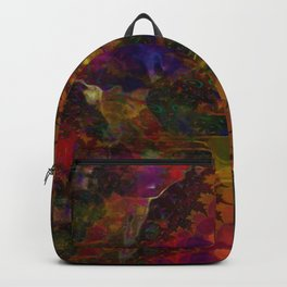 Stereo Trippin' Psychedelic Fractal Backpack