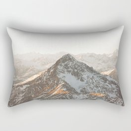 Alps Peak Rectangular Pillow
