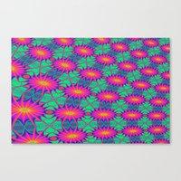 tie dye Canvas Prints featuring Tie Dye by Cherie DeBevoise