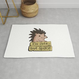 cute hedgehog Rug