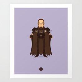 The Undertaker - Pro Wrestling Illustration Art Print