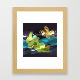 Light Chasers Framed Art Print
