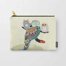 Owly friends Carry-All Pouch