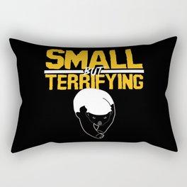 Honey Badger Cool Funny Saying Rectangular Pillow