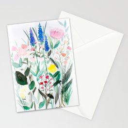 Spring Wildflowers Stationery Cards