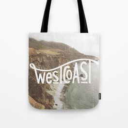 West Coast - BigSur Tote Bag