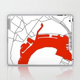 Point Loma  San Diego Map Laptop & iPad Skin