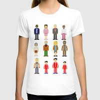 the royal tenenbaums T-shirts featuring The Royal Pixelbaums by Isabel