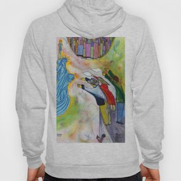 New York, the same dream a million times dreamt before me. (My dreams of America part1) Hoody