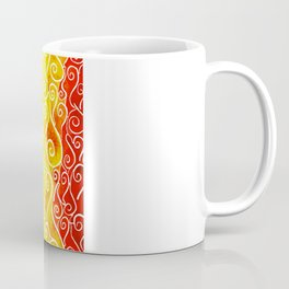 Rainbow Water Waves Coffee Mug