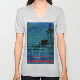 Nightscape 04 Unisex V-Neck