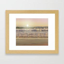 Goodmorning Sun Framed Art Print