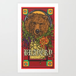 Bravery Art Print