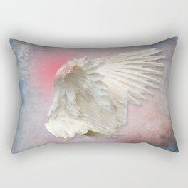 Lost Angel Wing Rectangular Pillow
