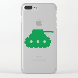 Mini-Tank Clear iPhone Case