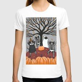 Cats Celebration of Halloween T-shirt