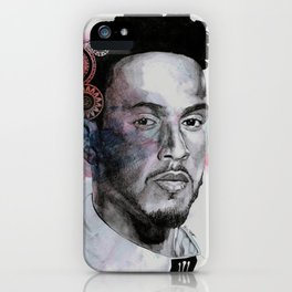 King Hammer: Tribute to Lewis Hamilton iPhone Case