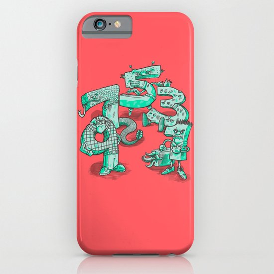 Odd Numbers iPhone & iPod Case