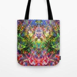Floral Diving Tote Bag