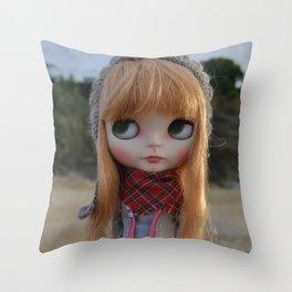 Lumen - Blythe doll #16 Throw Pillow