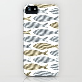 shoal of herring iPhone Case