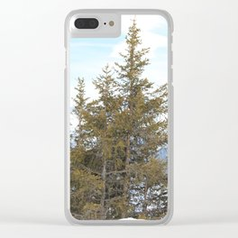 Wunderfull Snow Mountain(s) 7 Clear iPhone Case
