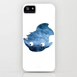 Ponyo Silhouette iPhone Case