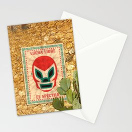 El Spectro - Lucha Libre Stationery Cards