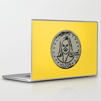 parks Laptop & iPad Skins featuring Leslie Knope  |  Susan B. Anthony Coin  |  Parks and Recreation by Silvio Ledbetter