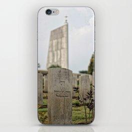 Honor Thy Fallen iPhone Skin