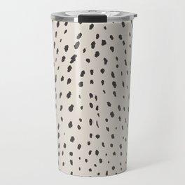 Silver Fawn Spots Travel Mug