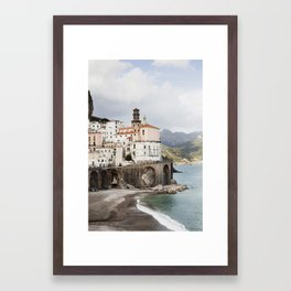 Atrani, Amalfi Coast Framed Art Print