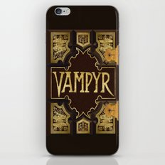 Vampyr Book -- Buffy the Vampire Slayer iPhone & iPod Skin