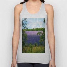 Summertime Lavender Unisex Tank Top