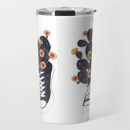 Sneakers with cactus Travel Mug