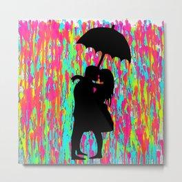 Under the Umbrella 4 Metal Print
