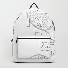 Tennis Lifestyle awesome present Backpack