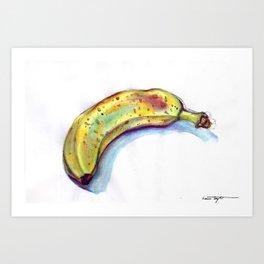 Banana! Art Print