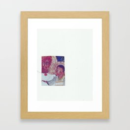 Jamacian Madonna and Child Framed Art Print